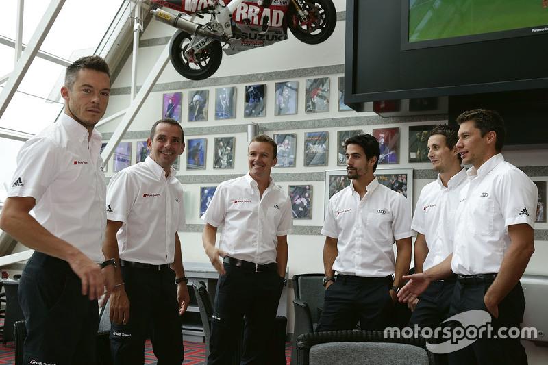 Andre Lotterer, Benoit Tréluyer, Marcel Fassler, Lucas di Grassi, Oliver Jarvis, Loic Duval, Audi Sport Team Joest