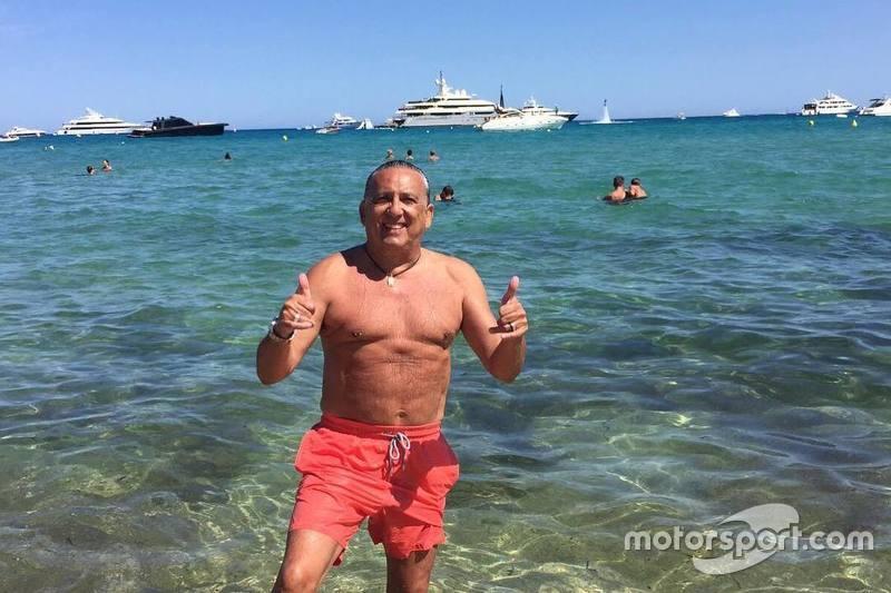 Galvão Bueno de férias