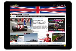 Motorsport.com 英国版截屏