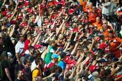 Fans in de pits