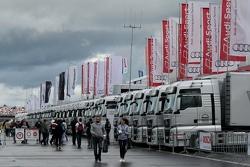 Паддок DTM на Moscow Raceway