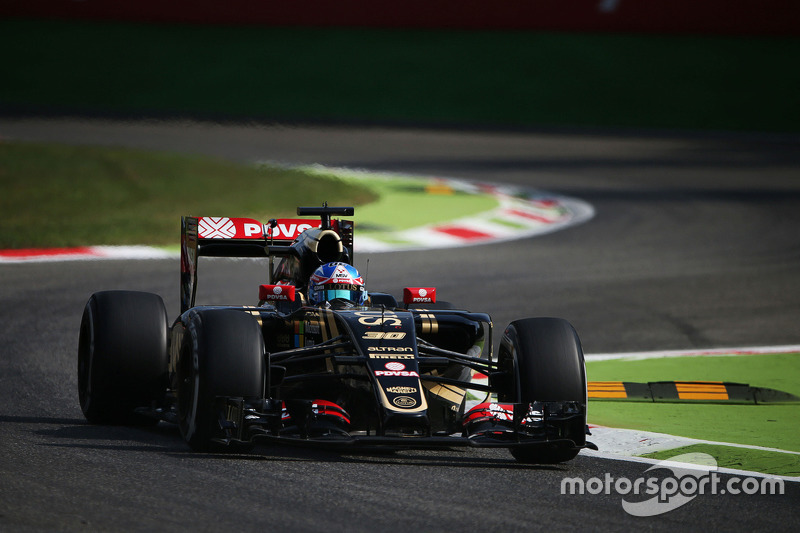 Jolyon Palmer, Lotus F1 E23 piloto de testes e reserva