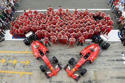 Scuderia Ferrari team fotoshoot