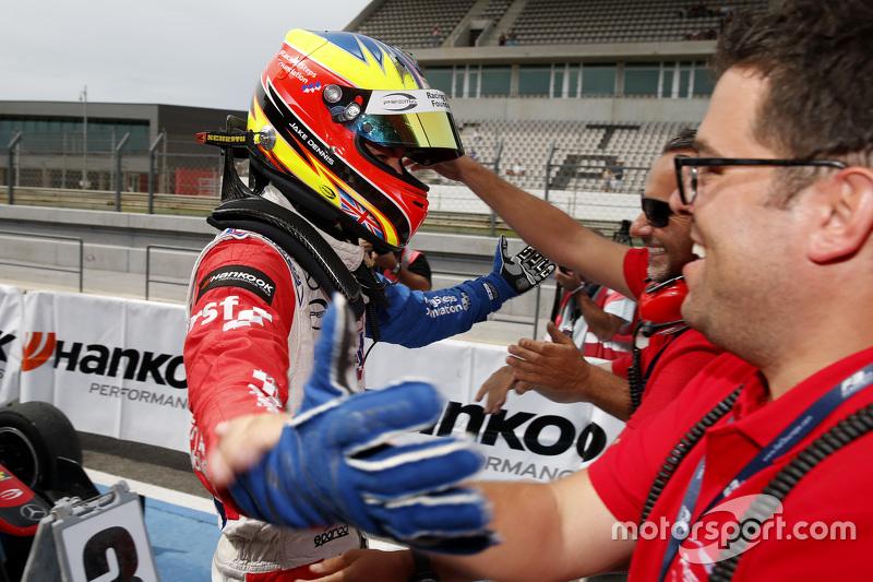 1. im 1. Rennen: Jake Dennis, Prema Powerteam, mit Rene Rosin
