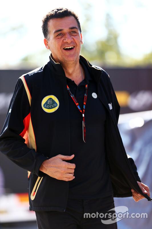 Federico Gastaldi, Lotus F1 Team