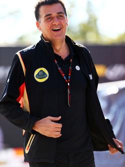 Федеріко Гастальді, Lotus F1 Team Заступник керівника команди
