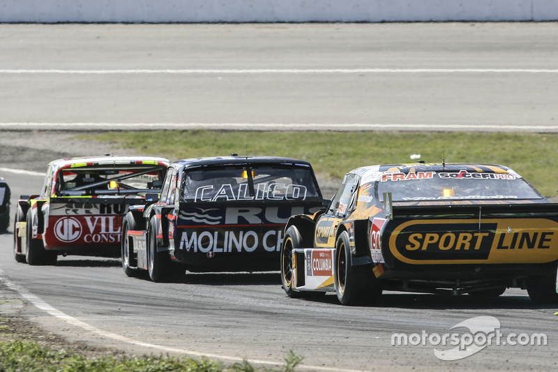 Leonel Pernia, Las Toscas Racing Chevrolet and Leonel Pernia, Las Toscas Racing Chevrolet and Juan Pablo Gianini, JPG Racing Ford