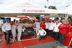 Kris Meeke et Paul Nagle, Citroën DS3 WRC, Citroën World Rally Team