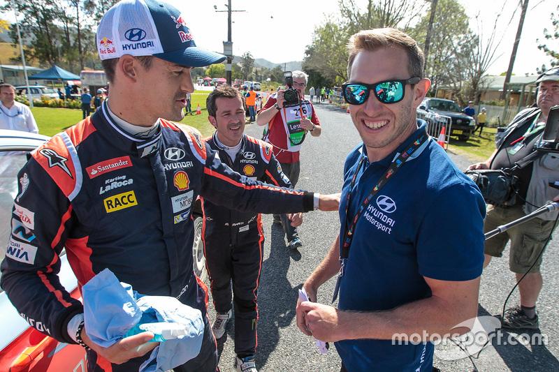 Daniel Sordo, Hyundai Motorsportt, mit Chris Atkinson