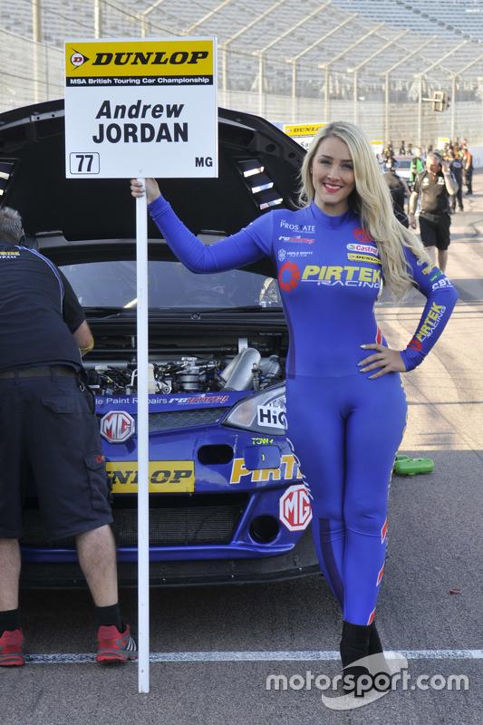 MG Pirtek Racing грід гел