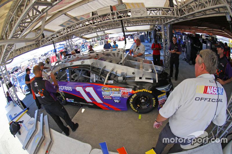 Tech inspection: Denny Hamlin, Joe Gibbs Racing Toyota