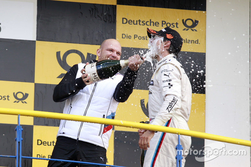 Podium: Ernest Knoors, BMW Team MTEK, und Bruno Spengler, BMW Team MTEK, BMW M4 DTM