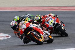 Dani Pedrosa, Repsol Honda Team e Andrea Iannone, Ducati Team e Pol Espargaro, Tech 3 Yamaha