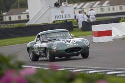 Gordon Shedden y Chris Ward, Jaguar E-type 1963