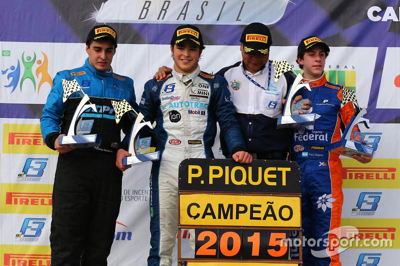 Pedro Piquet bicampeão da F3 Brasil