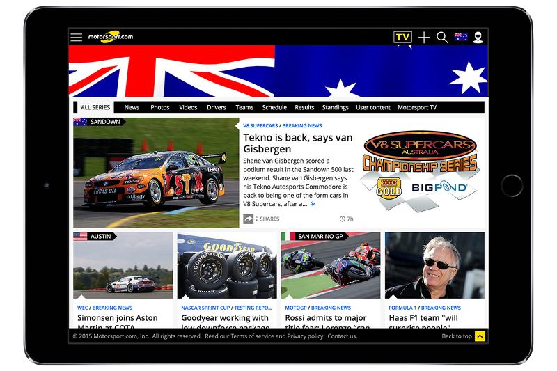 Motorsport.com - Australia скріншот