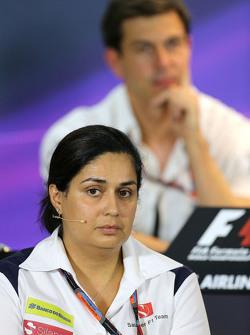 Monisha Kaltenborn, Managing director, Sauber F1 Team