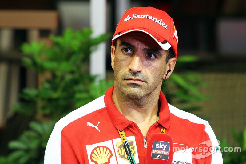 Марк Жене, Ferrari Тестовий гонщик