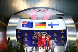 Podium: 1. Sebastian Vettel, Ferrari, 2. Daniel Ricciardo, Red Bull Racing, 3. Kimi Raikkonen, Ferrari