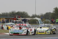 Carlos Okulovich, Sprint Racing Torino and Omar Martinez, Martinez Competicion Ford and Nicolas Bonelli, Bonelli Competicion Ford