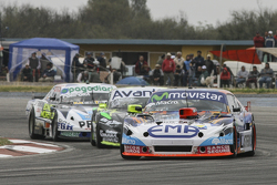 Christian Ledesma, Jet Racing Chevrolet and Mauro Giallombardo, Maquin Parts Racing Ford and Emiliano Spataro, UR Racing Dodge