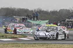 Laureano Campanera, Donto Racing Chevrolet; Matias Jalaf, Catalan Magni Motorsport Ford e Juan Pablo Gianini, JPG Racing Ford