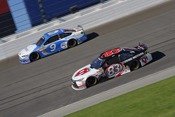 Matt Dibenedetto, BK Racing Toyota; Sam Hornish Jr., Richard Petty Motorsports Ford