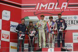 Podio Gara 2, Kevin Perez Kanayet, Malta Formula Racing, Alex Peroni, Torino Squadra Corse, Diego Bertonelli, RB Racing