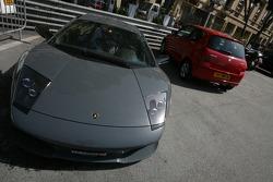 A Lamborghini Murcielago
