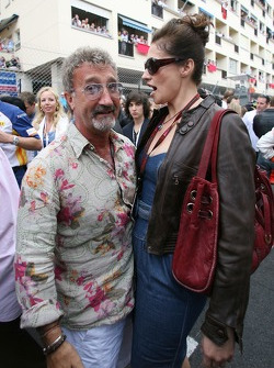 Eddie Jordan, and Slavica Ecclestone, Wife to Bernie Ecclestone