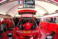 Sébastien Loeb and Daniel Elena