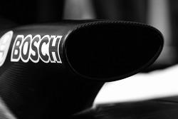Detail of the Team Peugeot Total Peugeot 908