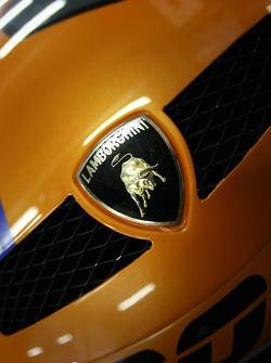 Detail of the Lambo Racing Lamborghini Gallardo GTR