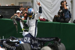 3rd place Alexander Wurz, Williams F1 Team