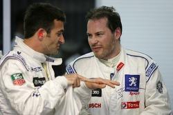 Nicolas Minassian et Jacques Villeneuve