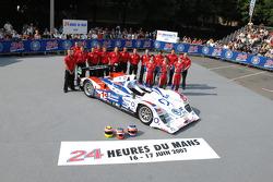#15 Charouz Racing System Lola B07-17 Judd: Jan Charouz, Stefan M¸cke, Alex Yoong