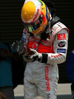 Pole Position, 1st, Lewis Hamilton, McLaren Mercedes, MP4-22