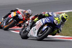 Valentino Rossi y Dani Pedrosa