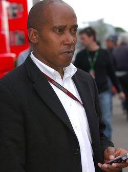 Anthony Hamilton, père de Lewis Hamilton