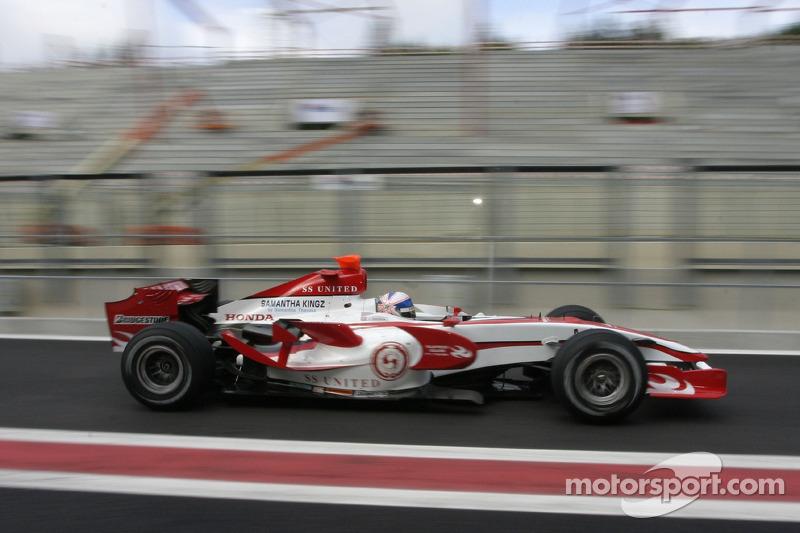 #23: Ентоні Девідсон, Super Aguri F1 Team, SA07
