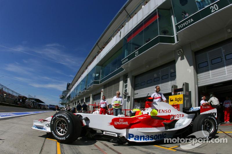 Ральф Шумахер, Toyota Racing, TF107
