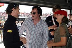 Квентін Тарантіно, Зоі Белл, Девід Култхард, Red Bull Racing