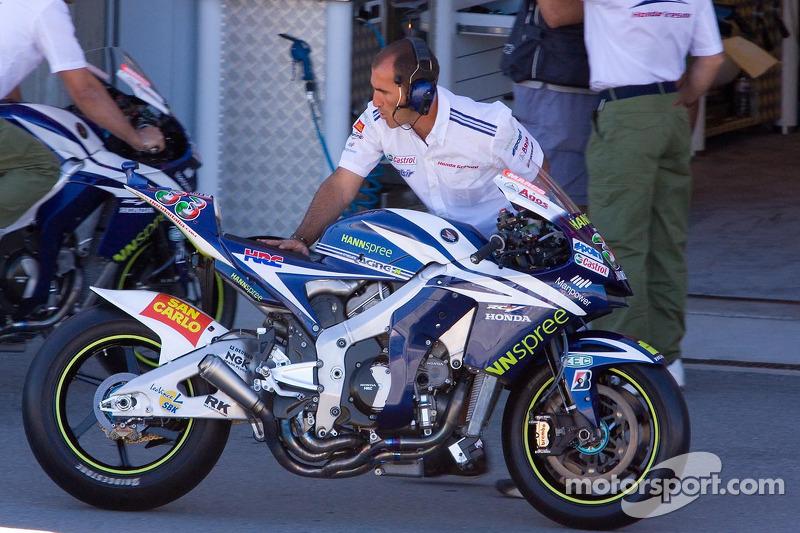Moto de Marco Melandri