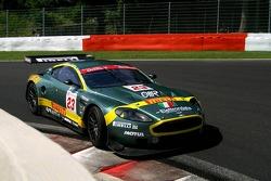 #23 Aston Martin Racing BMS Aston Martin DBR9: Fabio Babini, Jamie Davies, Ferdinando Monfardini, Diego Alessi