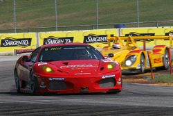 #62 Risi Competizione Ferrari 430 GT: Mika Salo, Jaime Melo