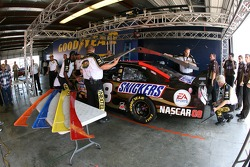 Snickers Ford at tech inspection