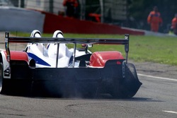 3 miles to go till the pits, #15 Charouz Racing System Lola B07/17-Judd