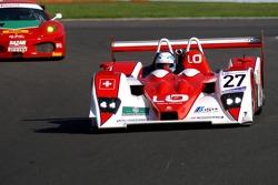 #27 Horag Racing Lola B05/40-Judd: Fredy Lienhard, Didier Theys, Eric van de Poele
