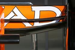 Spyker F1 Team, F8-VII, rear wing