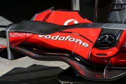 McLaren Mercedes, MP4-22, front wing detail